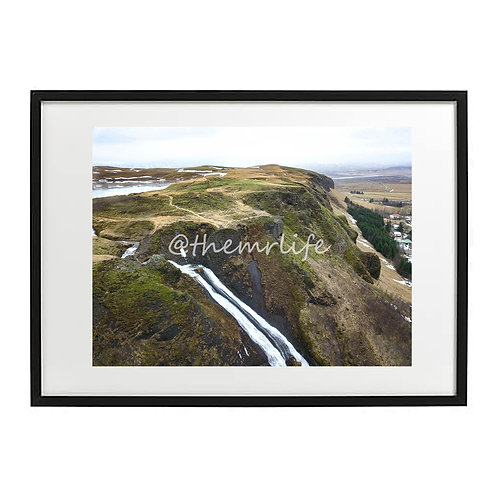 ICELAND CLIFF A2 PRINT