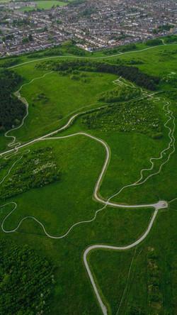 Bike Path, Hornchurch Country Park