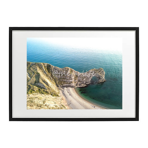 DURDLE DOOR FRONT FACE A2 PRINT