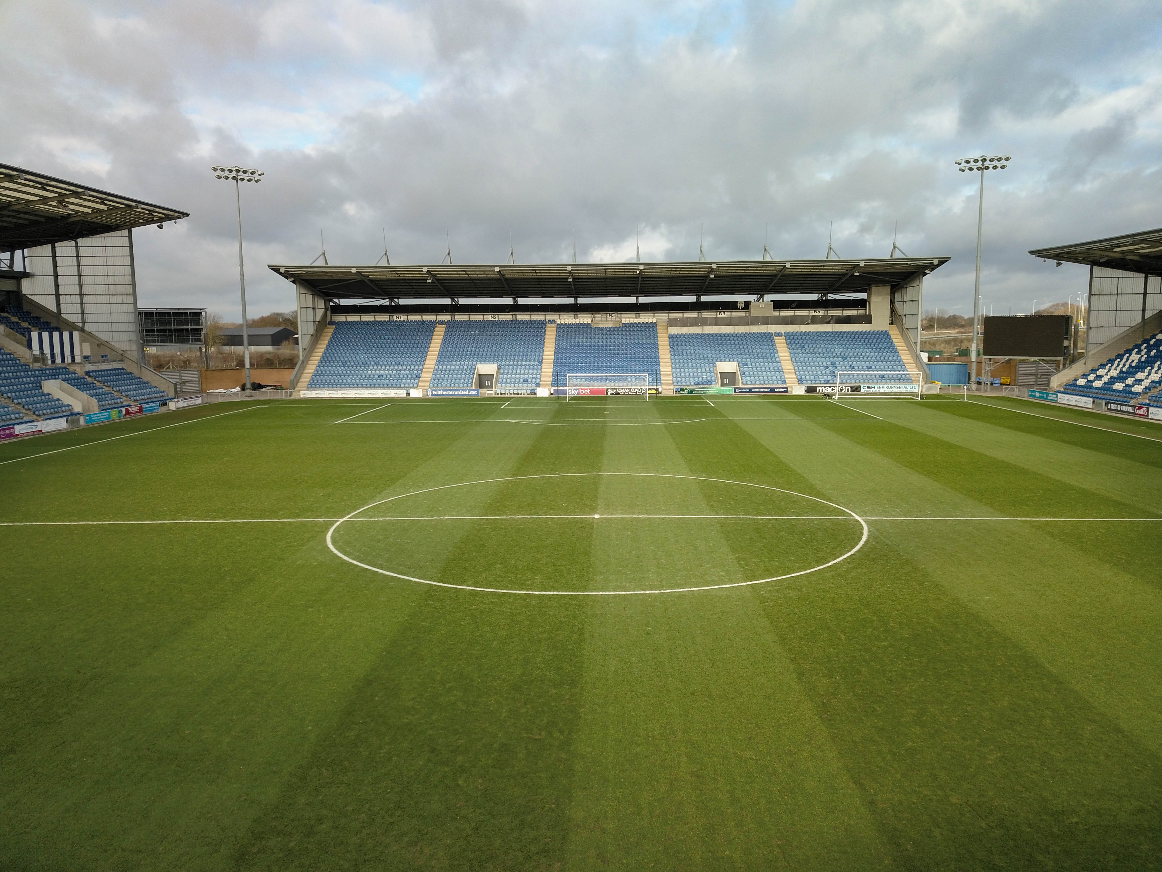 Colchester United Football Club, UK