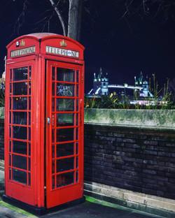 Telephone Box, Tower Bridge