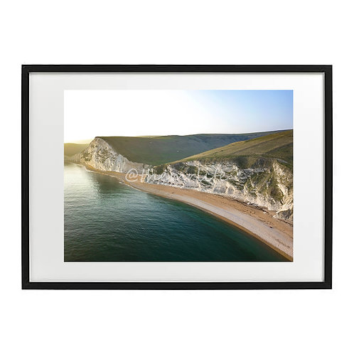 DURDLE DOOR CLIFF A2 PRINT