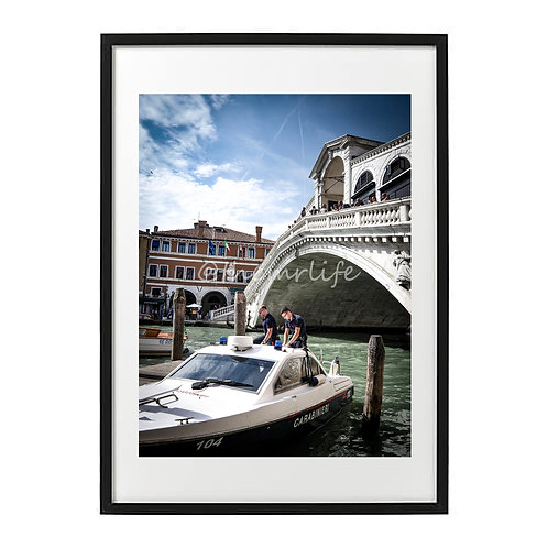 ARMED FORCE VENICE A2 PRINT