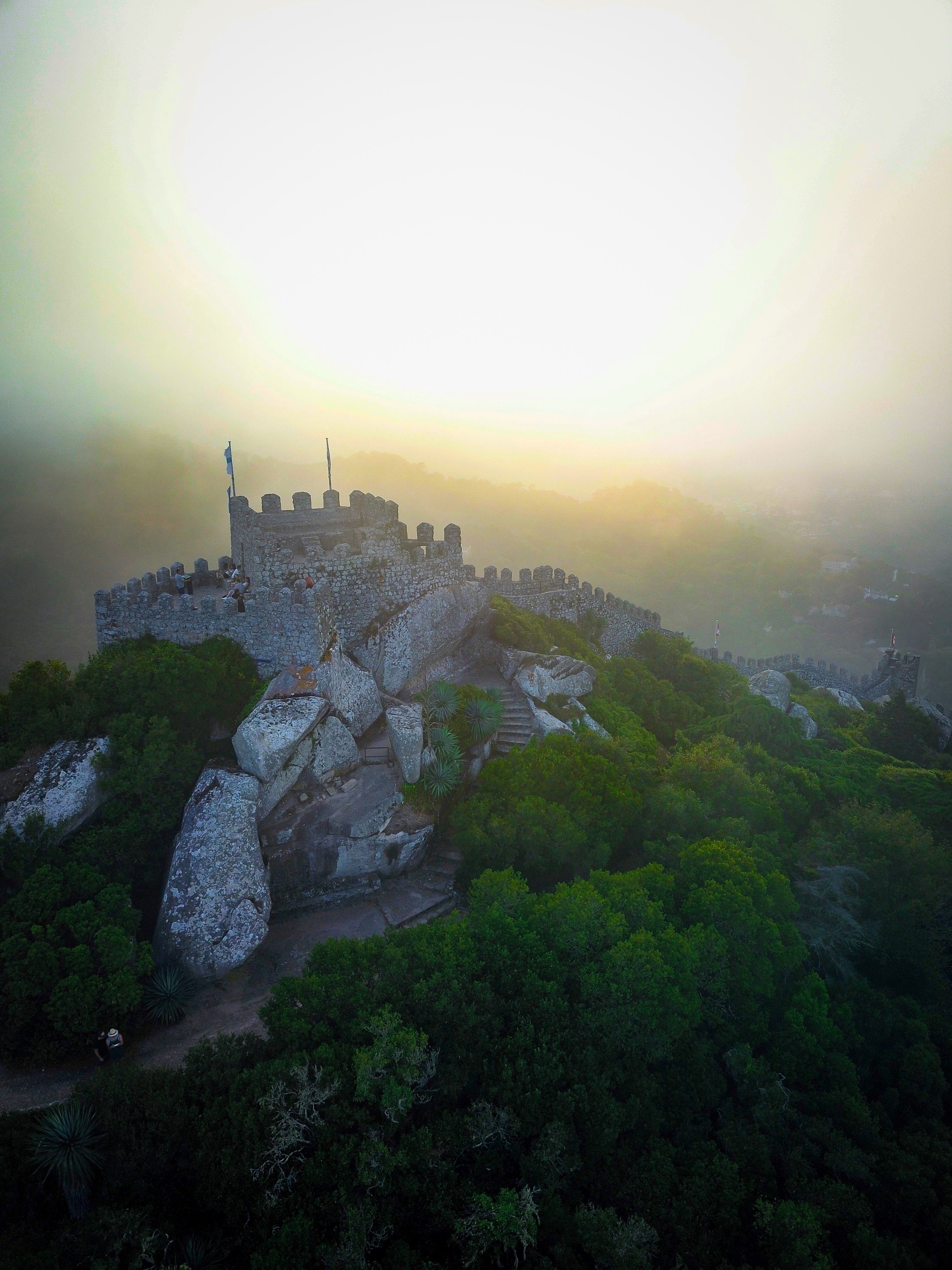 Hilltop Fortress, Sintra, Portugal