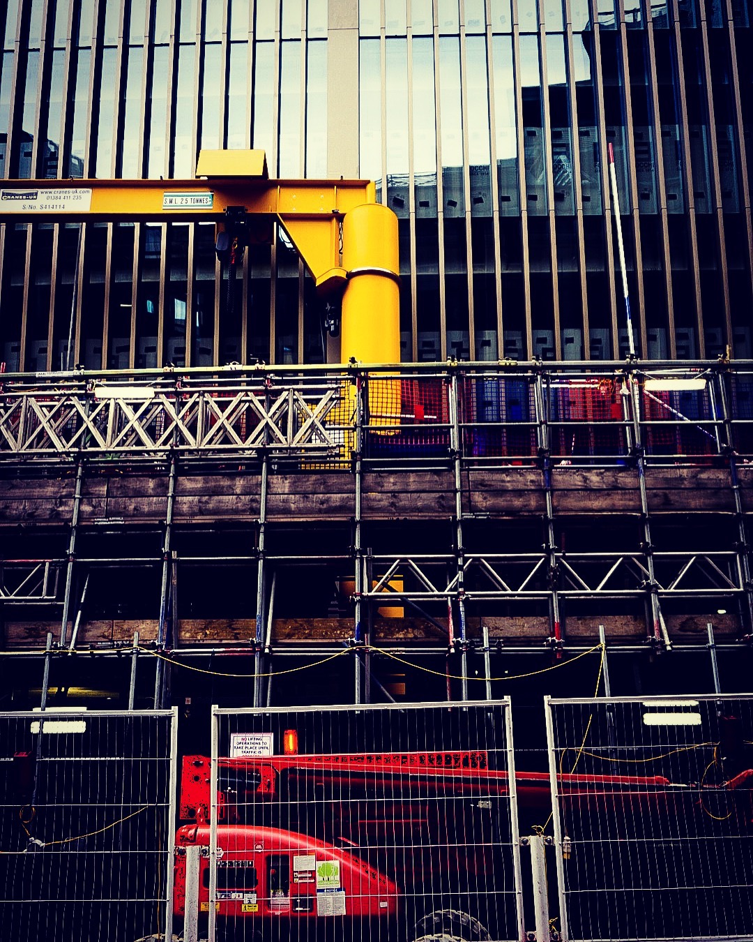 Construction, London