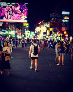 Chaotic Khao San road
