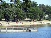 ammenities, public beach, menahga, motel, resort, fishing dock, fun for the family