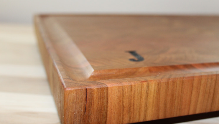 Cherry End Grain Cutting Board