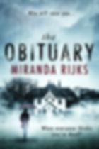 the obituary book cover