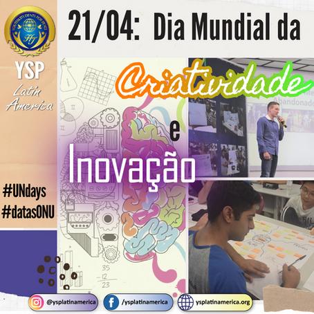 Dia Mundial da Criatividade e Inovação