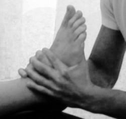 Manipolazione caviglia