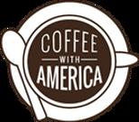 Coffee with America logo
