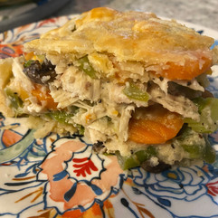Looking for healthy comfort food? This dairy-free chicken pot pie is the bomb!