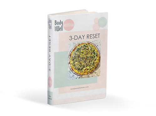 Body Be Well Nutrition: 3-Day Reset