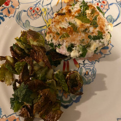 Hide the Kale! At last - a recipe that disguises the 'K' word in a delicious and healthy burger!
