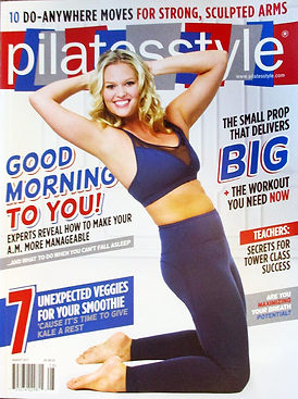 Pilates Style Mag. Font Cover Image