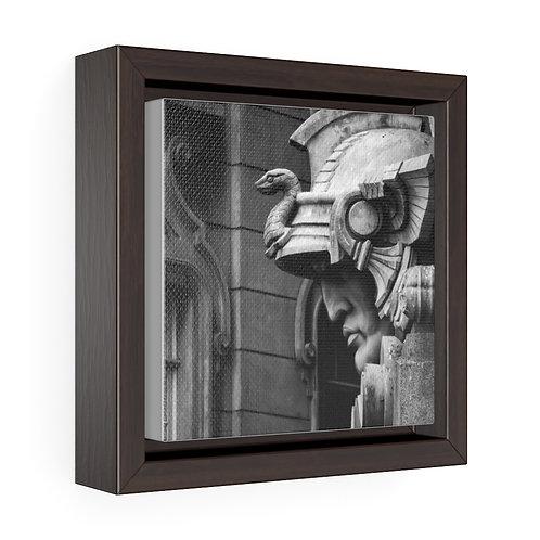 São Paulo - Square Framed Gallery Wrap Canvas
