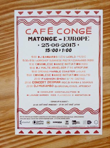 CAFE CONGE MATONGE-EUROPE juillet 2015