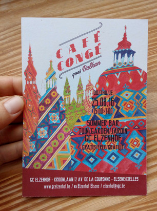 CAFE CONGE GOES BALKAN août 2016