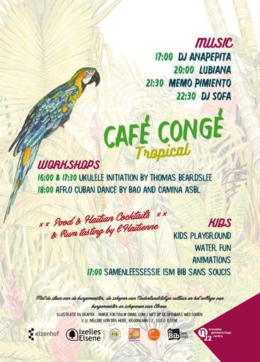 CAFE CONGE TROPICAL août 2018