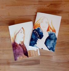 carnets A5 - femmes zodiaques