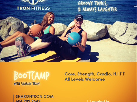 Tron Fitness Bootcamp and Savoury Sunday Series!