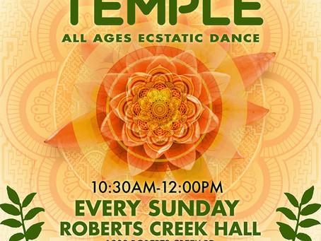 Dance Temple Sundays!