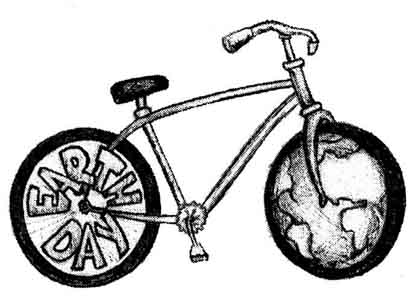 Pedal for the Planet! Earth Day