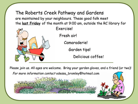Volunteers Needed - Roberts Creek Community Gardens