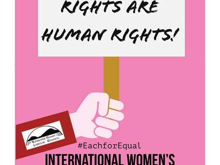 March 8th is International Women's Day!