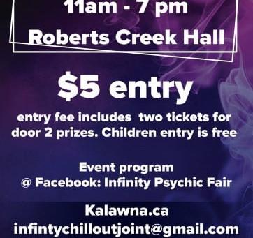 Psychic Fair this Saturday!