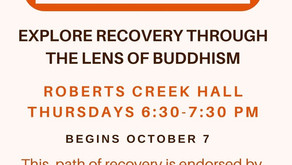 8 Step Buddhist Recovery Thursdays at the Hall