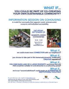 Flyer Sunshine Coast Information Session