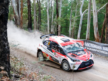 Australian Rally Championship - Eureka Rush