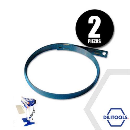 2 Repuestos de Resistencia Selladora pedal 35 cm