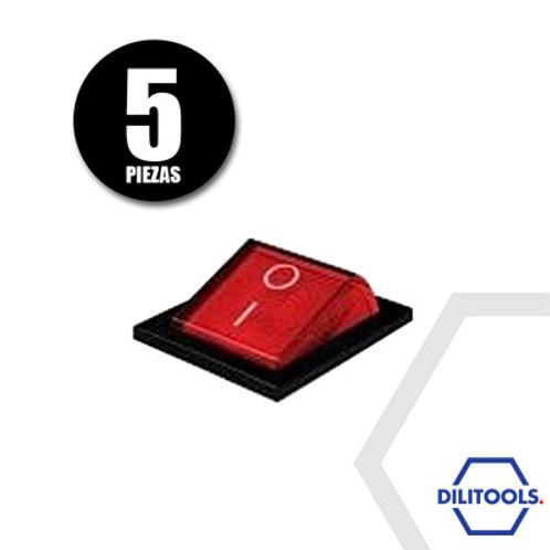 Kit de 5 Interruptores P/Selladora de Banda Cont.