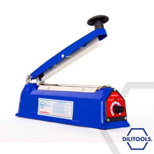 Máquina Selladora de Impulso 20 cm x 2 mm Metal