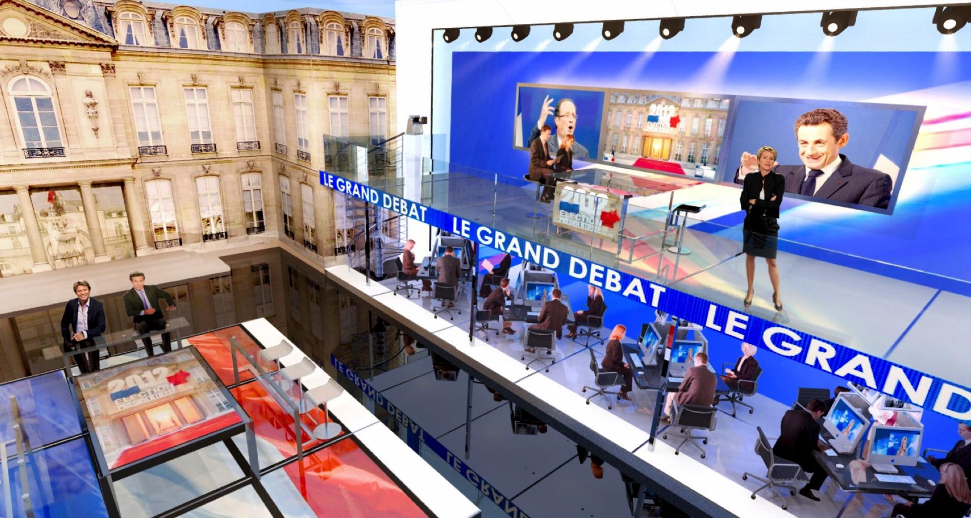 Plateau élections présidentielles