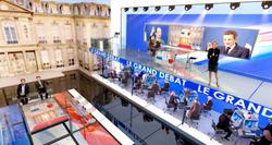 TV STUDIO OF PRESIDENTIAL ELECTIONS