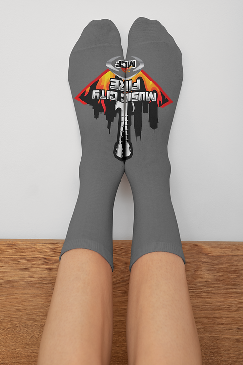 Music City Fire Socks (Unisex)