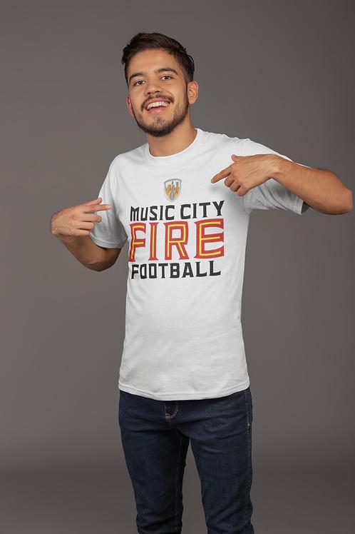 Music City Fire Tee (M)