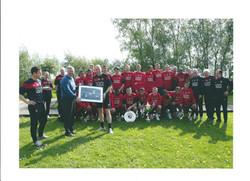 Manchester United (Mick Clegg on far left)