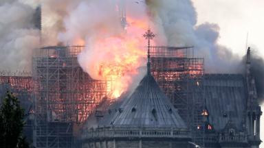 Notre-Dame: Massive fire ravages Paris cathedral