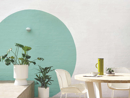 STYLISH CONCRETE WALL MAKEOVER