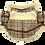Thumbnail: Plaid Faux Shearling Winter Coat