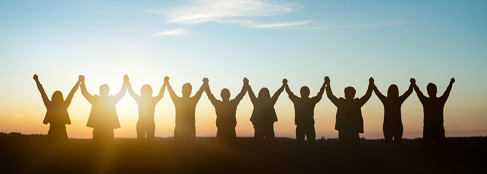 Silhouette of group happy business team making high hands over head in sunset sky backgrou...ted.jpg