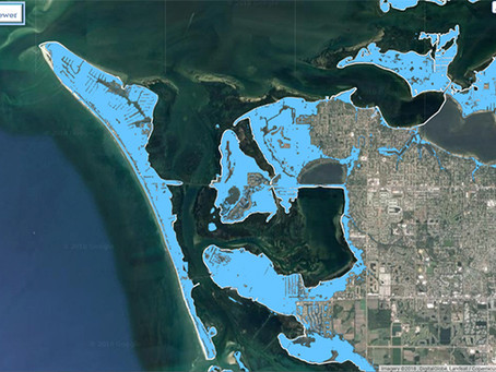 Will the Gulf of Mexico engulf our island paradise?
