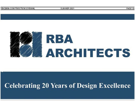 RBA Architects Celebrating 20 Years of Design Excellence