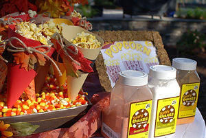 Fall Popcorn Buffet
