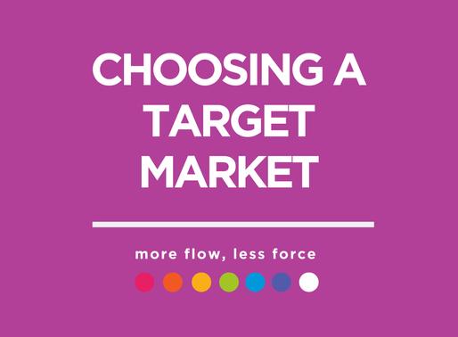 Choosing a Target Market